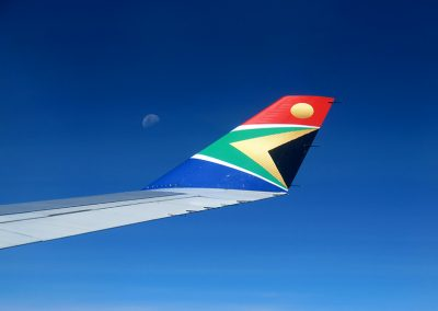 South Africa Airways A-340 GRU JNB